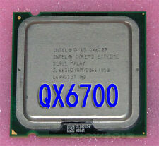 Intel Core 2 Extreme QX6700 2.66 GHz Quad-Core 8M 1066MHz Processor LGA775 CPU