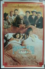Eat a Bowl of Tea Original 1989 Single Sided Movie Poster Chinese Film