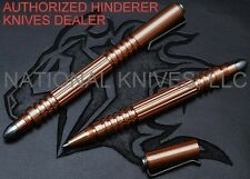 Rick Hinderer Knives Investigator Ink Pen, Copper - Tactical EDC - Auth. Dealer