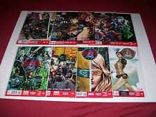 Secret Avengers (2013) #1,2,3,4,5,6,7,8,9 Marvel Now Codes Unused Nick Spencer