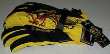 Ed Hardy Snow Gloves Ski Board Boogie Sled winter Germany German Xmas S M womens
