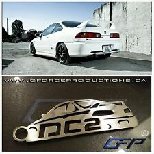 Acura Integra DC2 w/wing Rare Custom Limited Stainless Steel JDM Key chain B18
