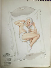 CALENDRIER 1941 - PIN-UP - ALBERTO VARGAS
