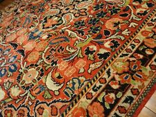 Circa 1930 Stunning Sultanabad Mahal Antique Persian Exquisite Hand Made Rug