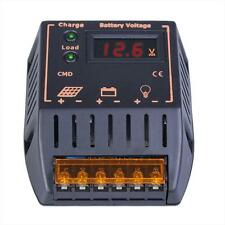 LCD 20A 12V/24V Autoswitch Solar Panel Battery Regulator Charge Controller YA