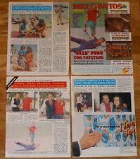 EUSEBIO PONCELA colección de prensa 1980s revista fotos actor cine español