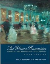 Western Humanities Volume 2 by Roy Matthews