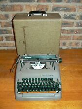 Vintage Smith-Corona Silent-Super Manual Portable Typewriter w/Case
