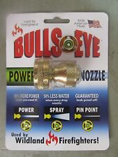 Bulls-eye Hose Nozzle #810C  NEW  Power Nozzle Used by wildland firefighters