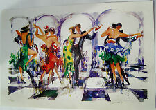 "MISHA LENN ""SICILIAN DEFENSE""SERIOLITHOGRAPH in COLOR-Arcival Paper-SIGNED-2005"