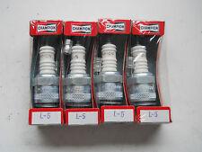 4 x Champion L5 Spark Plugs Douglas Excelsior Panther Villiers Velocette Neval