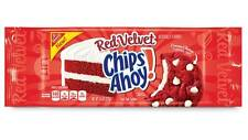 Nabisco Chewy CHIPS AHOY Red Velvet Cream Cheese Flavored Filled Soft Cookies