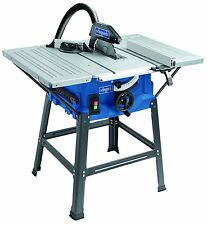 Scheppach HS100S 240 V 10-Inch Table Top Saw Bench - Blue Leg Stand Included