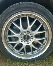 Three ASA Revolution Rims BBS 18 INCH USED with tires