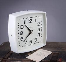 Fabrikuhr Nebenuhr Bahnhofsuhr unbenuzt  Loft Design wall OLD Retro watch CCCP