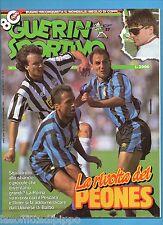 GUERIN SPORTIVO-1992 n.37- LA RIVOLTA DEI PEONES-PAPIN-MONDONICO-NO FILM