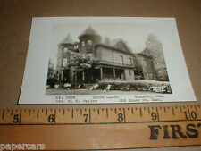 vintage Bloor Manor Toronto Ont Ontario Canada real photo postcard early home