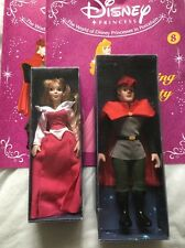DISNEY PRINCESS PORCELAIN DOLLS SLEEPING BEAUTY AND PRINCE - 2004 DEAGOSTINI