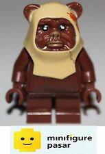 sw238 Lego Star Wars: 8038: The Battle of Endor - Paploo (Ewok) Minifigure - New