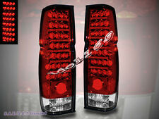 FIT 86-97 NISSAN HARDBODY PICKUP LED TAIL LIGHTS 87 88 89 90 91 92 93 94 95 96