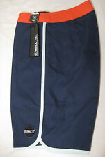 O´Neill Santa Cruz Scallop Board Shorts NWT 30 Navy