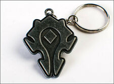 World of Warcraft Horde Sculpted Metal Keychain KeyRing Bag Zipper Pull OFFICIAL
