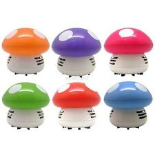 Mushroom Shape New Portable Corner Desk Vaccum Cleaner Mini Cute Vacuum Cleaning