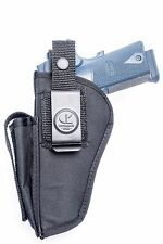 TISAS Turkish 1911 A1 .45 | Nylon OWB Open Carry Hip Gun Holster w/ Mag Pouch