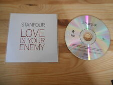 CD Indie Stanfour - Love Is Your Enemy (2 Song) Promo VERTIGO / UNIVERSAL