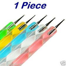 1 Pc 2 Sides Nail Art Dotting Tools Rhinestone Picking 3D Design Painter Pencil