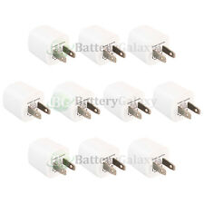 10 USB Travel Battery Wall AC Charger Adapter for Apple iPod Touch 1 2 3 4 5