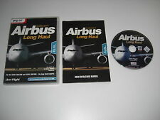 AIRBUS COLLECTION LONG HAUL Pc DVD Add-On Flight Simulator Sim 2004 X FS2004 FSX