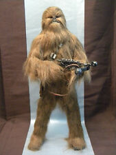 "STAR WARS CUSTOM 1/6 SCALE 15"" CHEWBACCA w/ BOWCASTER RIFLE! HOT TOYS SIDESHOW!"