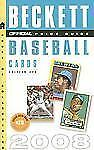 The Official Beckett Price Guide to Baseball Cards 2008, Edition #28 (Official P