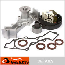 Fit 86-94 Nissan D21 Pathfinder 3.0L SOHC Timing Belt Water Pump Kit VG30E
