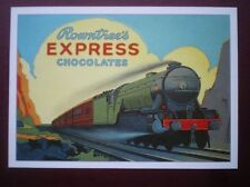 POSTCARD  ROWNTREES EXPRESS CHOCOLATES - R OPIE