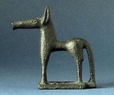 """ART GREC """"Griechisch-geometrisches Pferd"""" kleine Museums-Skulptur Sammlerfigur"""