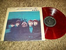 "RED VINYL TAIWAN ASIAN ISSUE LP Rolling Stones ""Between The Buttons""!"