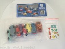 Kinder Surprise Disney Cars 2 Limited Edition Complete Set Of 8 South America