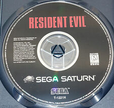Sega Saturn - RESIDENT EVIL - Disc Only in EXCELLENT Condition