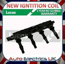 VAUXHALL OPEL SAAB IGNITION COIL PACK NEW LUCAS OE QUALITY
