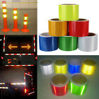 """2""""X10' 3M Reflective Safety Warning Conspicuity Tape Film Sticker Multicolor New"""