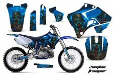 Yamaha Graphic Kit AMR Racing Bike Decal YZ 125/250 Decals MX Parts 96-01 ZOMBIE