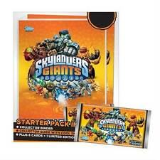 NEW SKYLANDERS GIANTS TOPPS COLLECTOR TRADING CARDS STARTER PACK w/ MASTER EON
