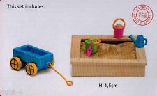 Lundby 60.5096 Smaland Sandkasten Set für das Puppenhaus