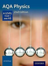 AQA Physics A Level Second Edition Year 1 Student Book, Breithaupt, Jim, New Con