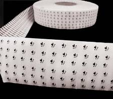 "2 Yds Paw Prints Dog Cat Pet Jacquard Woven Trim Ribbon 2""W"