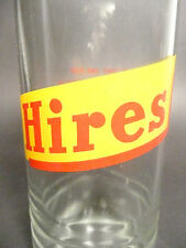 """vintage ACL pop SODA bottle -  new style HIRES ROOT BEER """"HALF QUART"""" -16 oz ACL"""