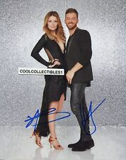 "MISCHA BARTON & ARTEM CHIGVINTSEV ""DWTS"" IN PERSON SIGNED 8X10 COLOR PHOTO"