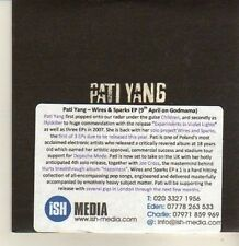 (CP204) Pati Yang, Wires & Sparks EP - 2012 DJ CD
